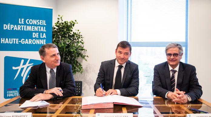 Signature convention Conseil départemental CCI et CMA