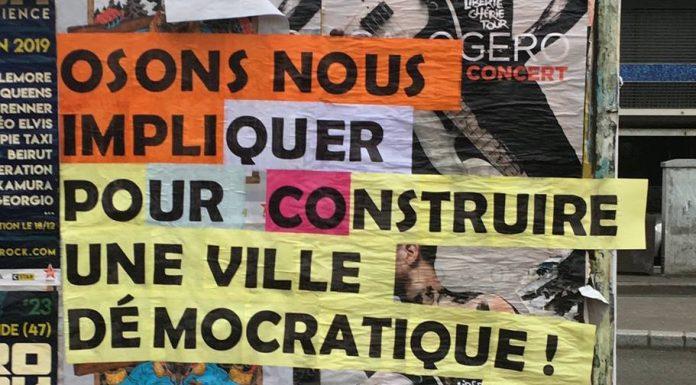 Le Festival Curieuses démocraties avait lieu à l'Espace Job