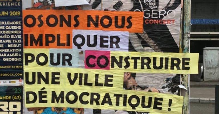 Festival Curieuses démocraties: une source d'inspiration pour Archipel Citoyen
