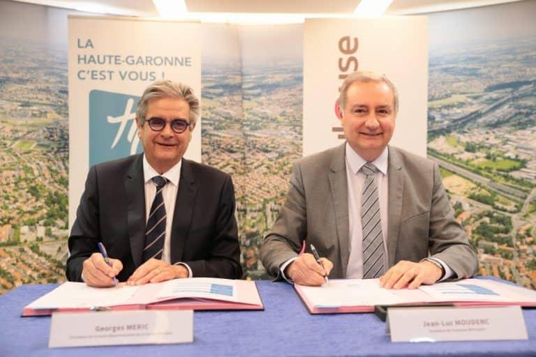 La métropole toulousaine et le département entérinent définitivement leur accord de partenariat