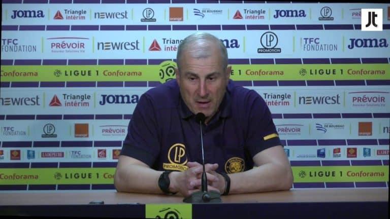 L'entraîneur du TFC Alain Casanova démis de ses fonctions