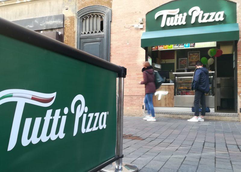 Le restaurant Tutti Pizza, à proximité de la place du Capitole. Crédit photo : Bryan Faham
