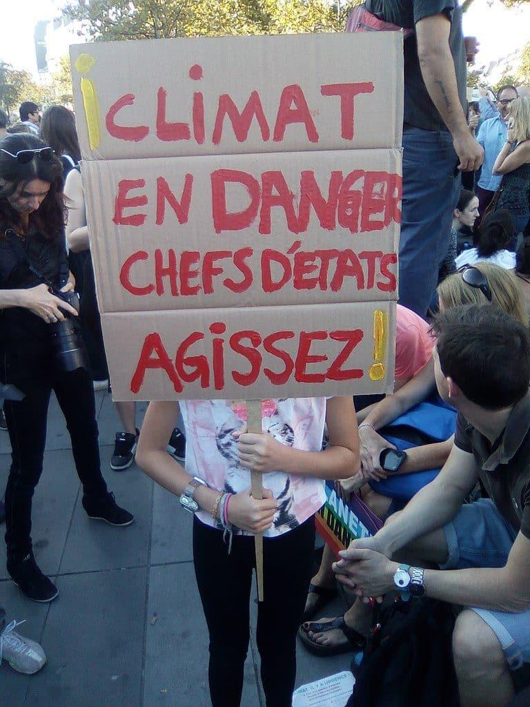 Journée d'action des jeunes pour le climat à Toulouse