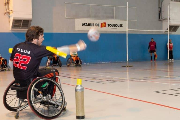 Rugby XIII fauteuil : Le Stade Toulousain peut soulever le bouclier ce dimanche