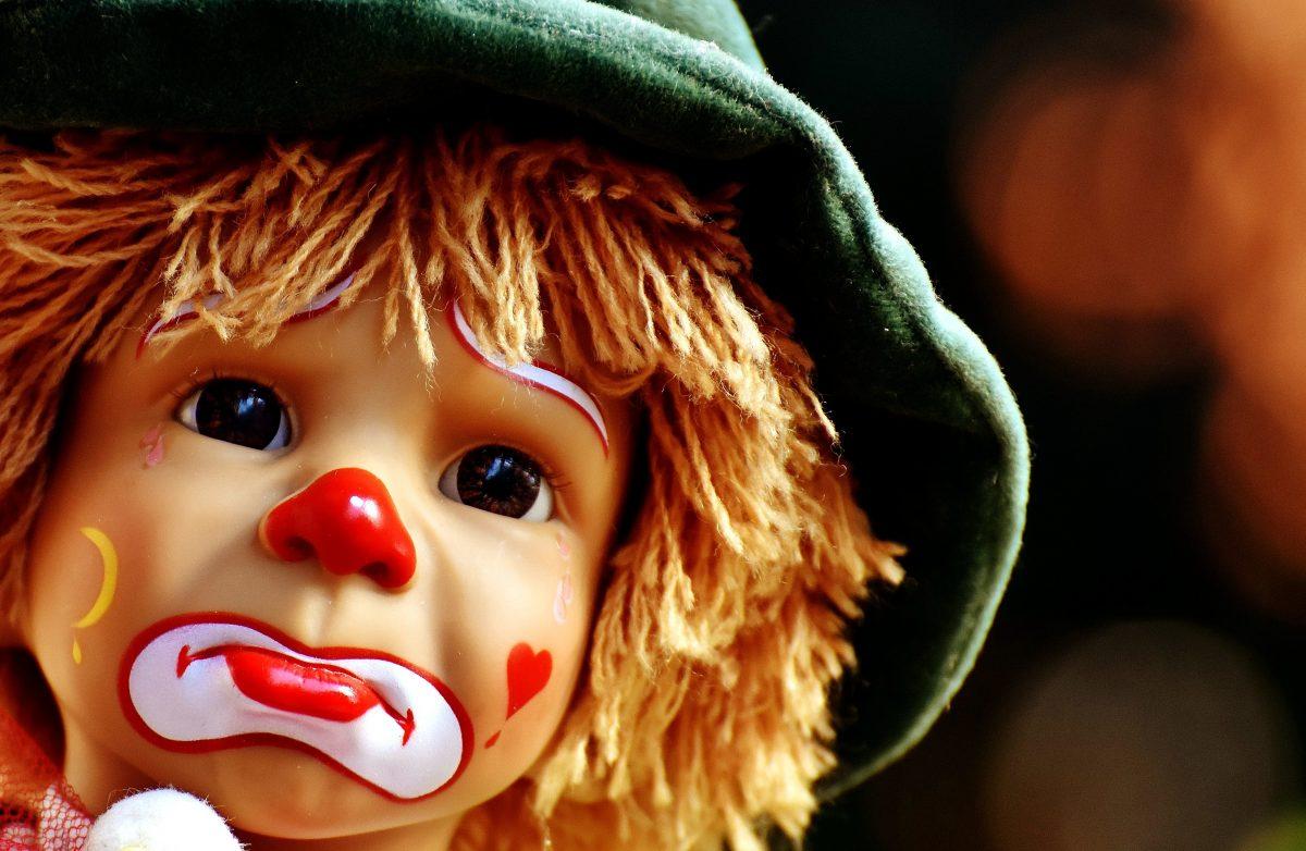 clown rire médecin