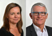Isabelle Hardy et Pierre Cohen