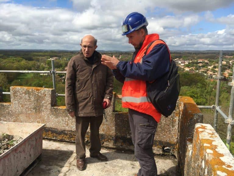 Sauvetage du patrimoine au château de la Salvetat-Saint-Gilles