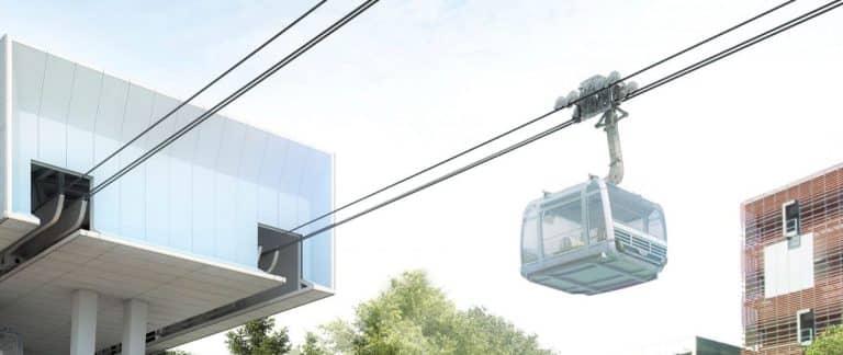 Avis favorable pour le futur Téléphérique Urbain Sud de Toulouse