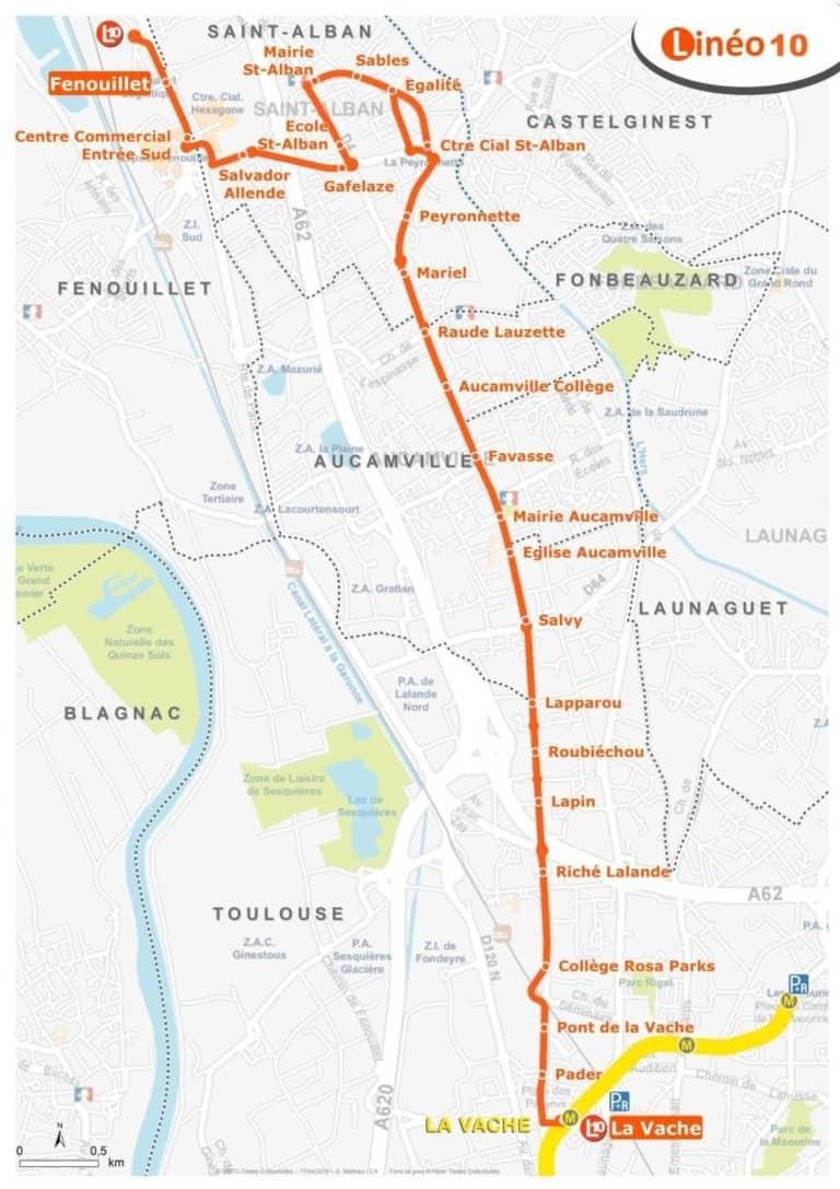 Tisséo : Concertation sur la ligne Linéo 10 jusqu'au 29 mai