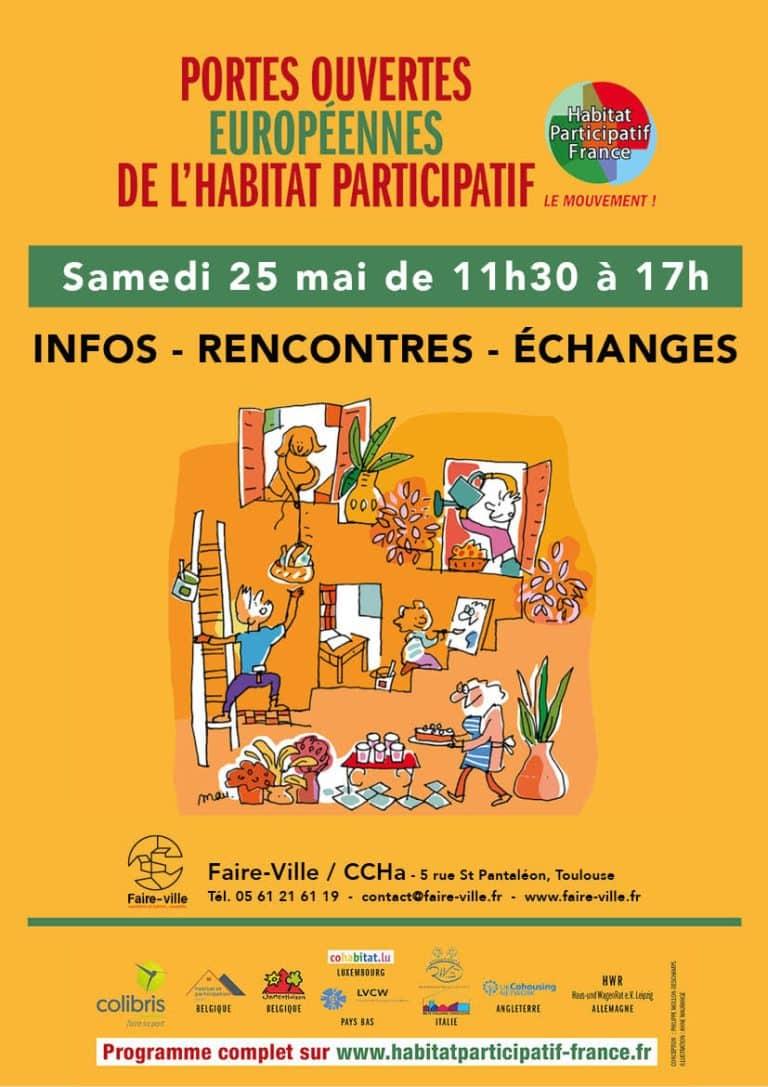 L'habitat participatif ouvre ses portes samedi 25 mai à Toulouse