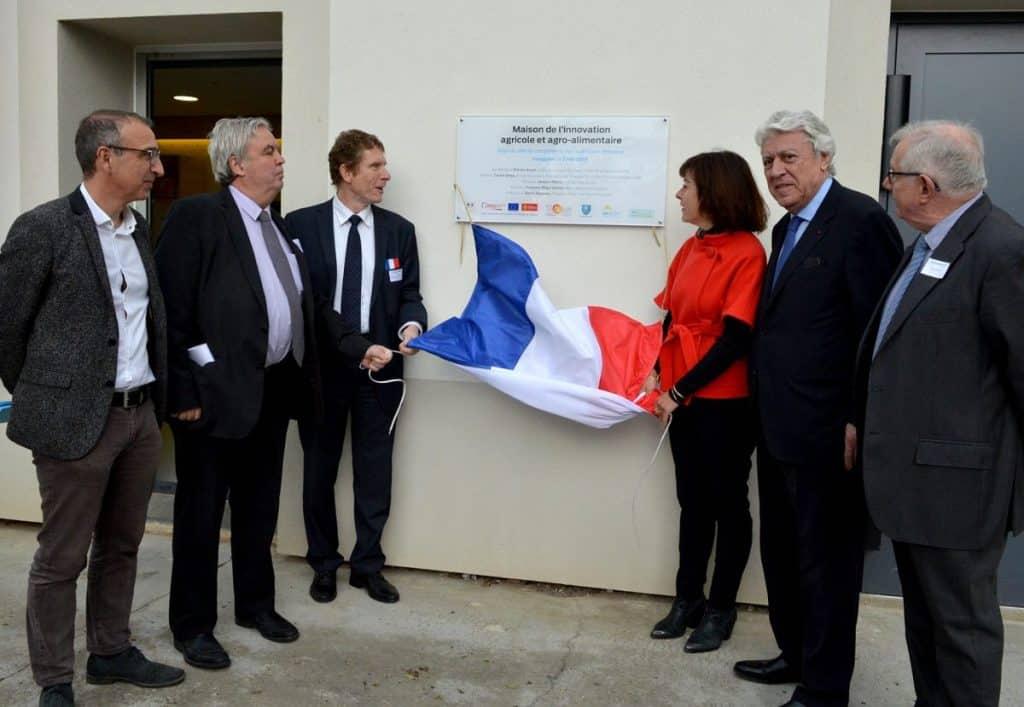 inauguration maison innovation agricole Carole Delga