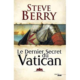 CONCOURS – GAGNEZ LE LIVRE «Le dernier secret du Vatican»