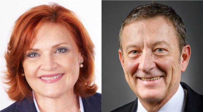 Marthe Marti et Jean-Luc Lagleize