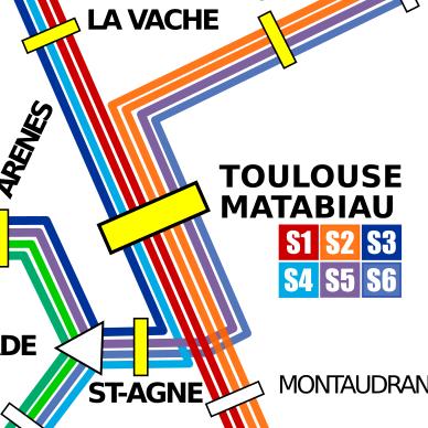 Le collectif Rallumons l'étoile, qui défend un projet de RER toulousain, appelle les acteurs du transport à se remettre au plus vite autour de la table ©RallumonsL'Étoile