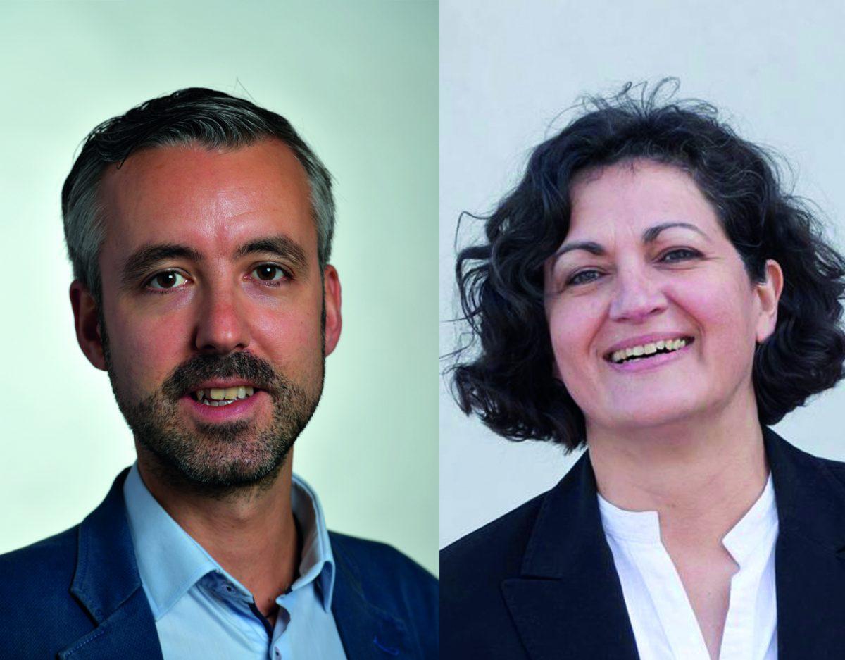 Agnès Arrighi et Antoine Maurice