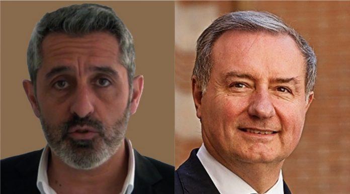 Pierre Casteras et Jean-Luc Moudenc