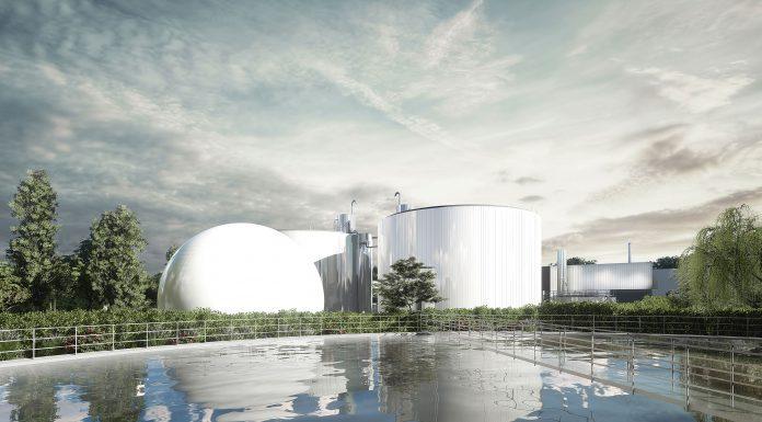 La station de Ginestou produit du biométhane pour Toulouse Métropole©recarchitecture