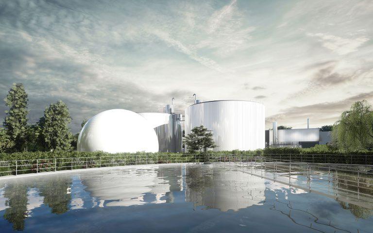 La station de Ginestous produit du biométhane pour le réseau de gaz de Toulouse
