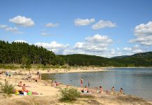 Saint-Ferreol-baignade