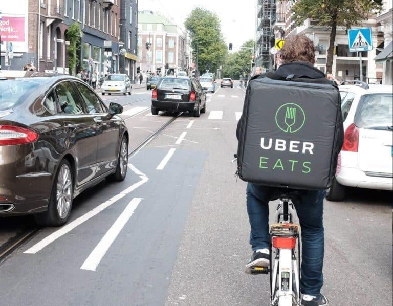Les livreurs Uber Eat en grève ce soir à Toulouse