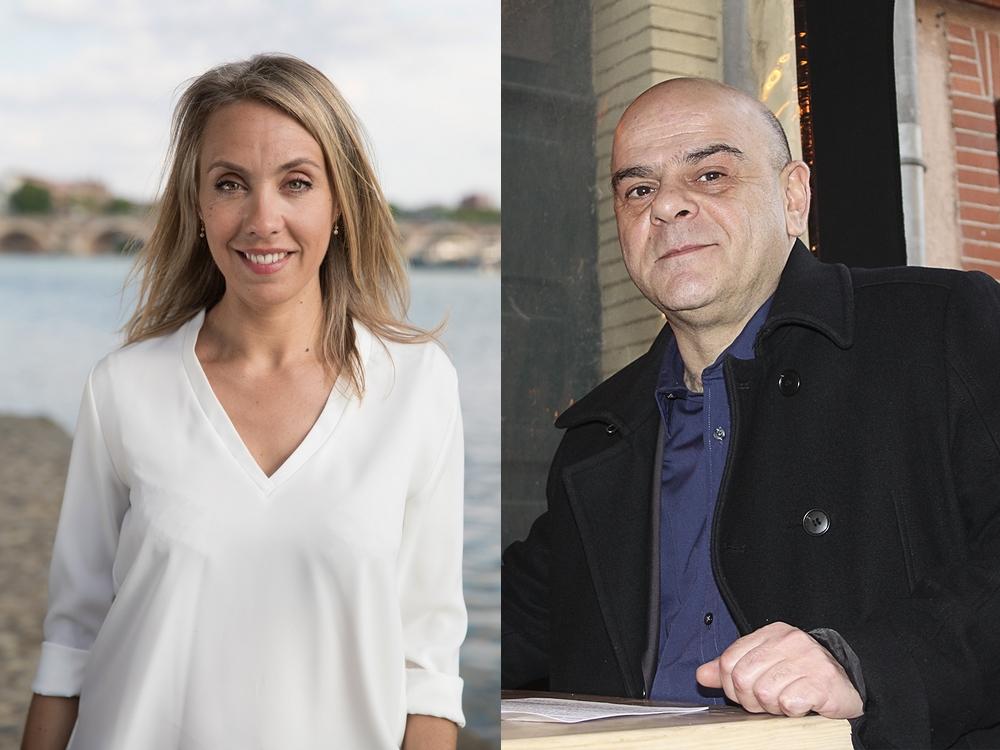 Nadia Pellefigue et Pierre-Nicolas Bapt