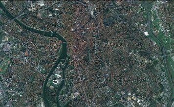 Vue aérienne Toulouse