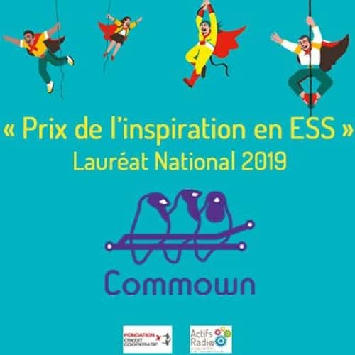 L'inspiration en ESS #40 – COMMOWN : lauréat national des Prix de l'inspiration en ESS