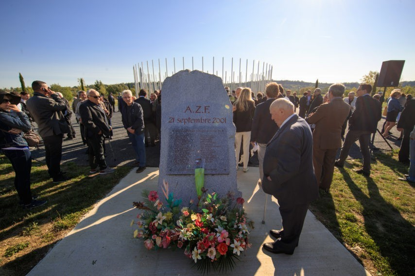 commémoration AZF 2018