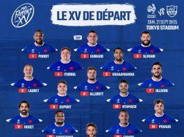 compo equipe de France
