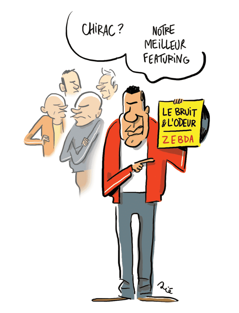 """""""Le bruit et l'odeur""""ou comment Jacques Chirac a inspiré Zebda"""