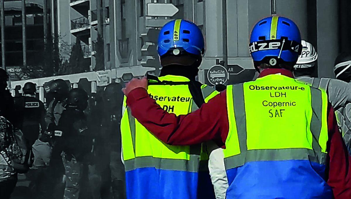Observateurs solidaires manifestations