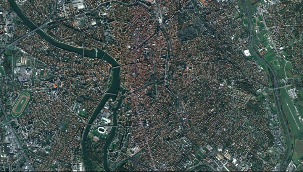 Vue-aérienne-Toulouse Occitanie habitants ville