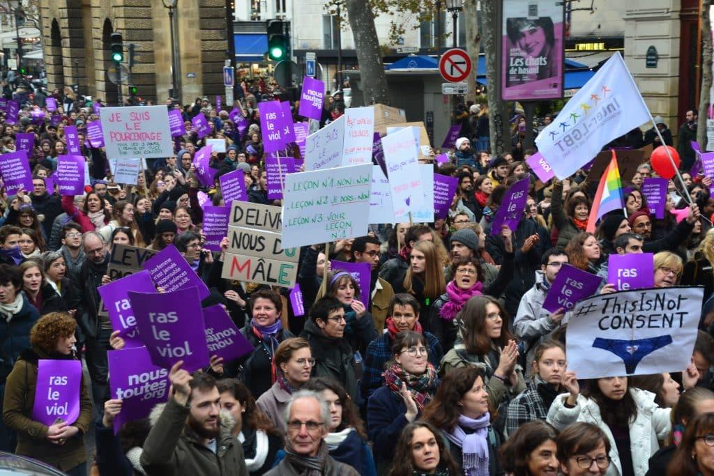 manifestation violence faites aux femmes