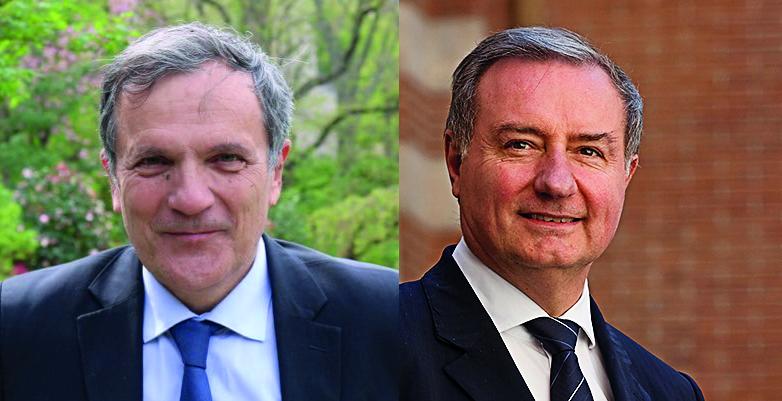 François Chollet et Jean-Luc Moudenc