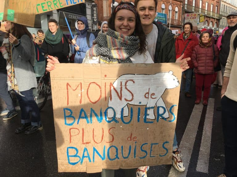 Toulouse : une manifestation pour «une vraie loi climat»