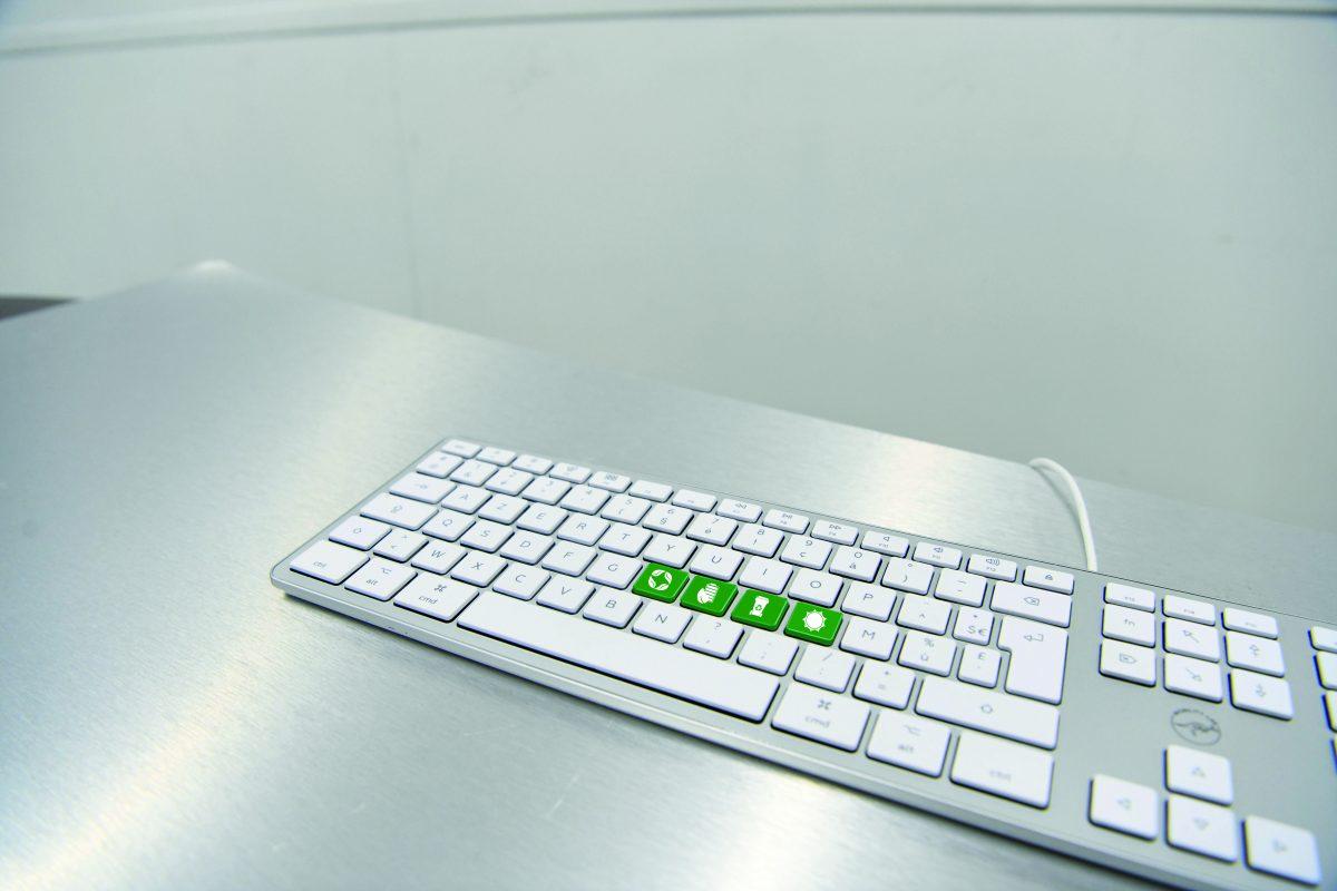 Touches clavier Mac