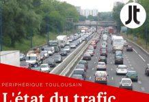 trafic Toulouse périphérique