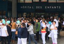 grève hopital enfants Toulouse