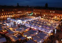marché Noel Toulouse