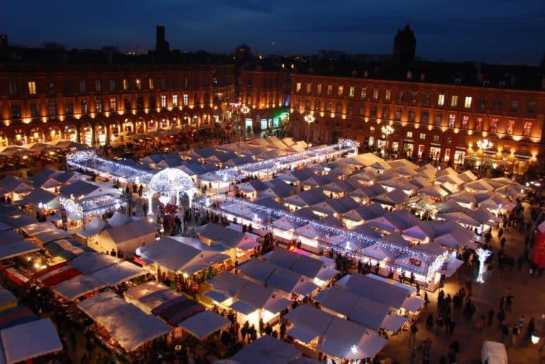Le marché de Noël de retour sur la place du Capitole