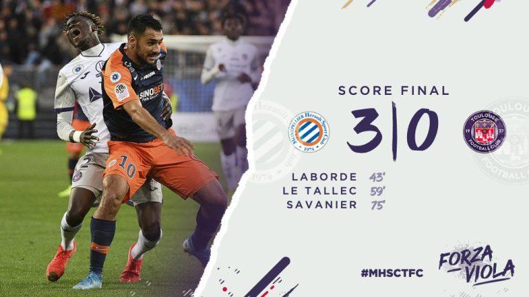 Le TFC balayé à Montpellier (3-0). Les buts en vidéo
