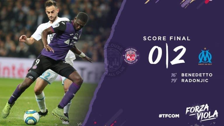 Les images de la défaite du TFC contre Marseille (0-2)