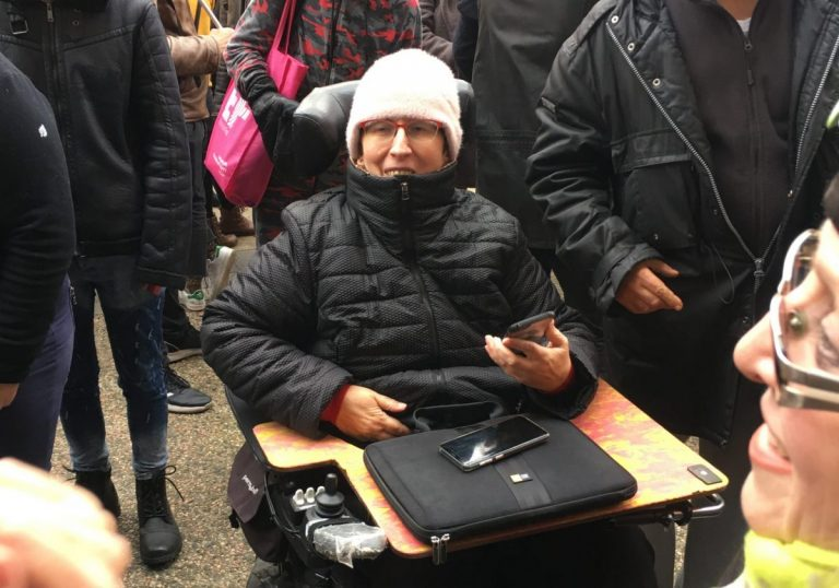 Condamnée à l'interdiction de manifester, Odile Maurin ne se «taira pas»
