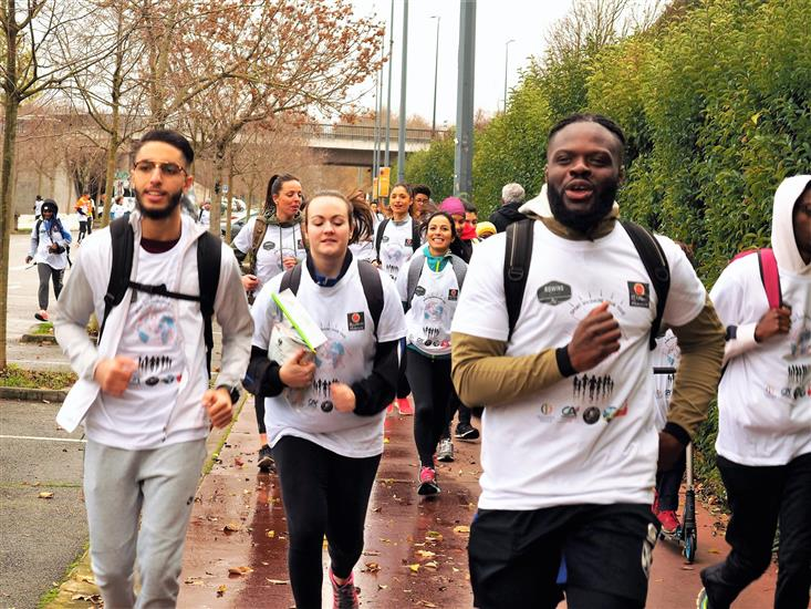 footing de la solidarite