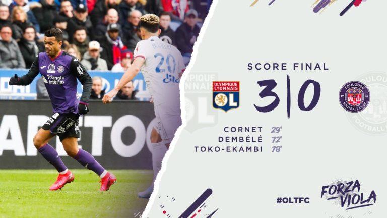 Les images de la 11ème défaite consécutive du TFC à Lyon (3-0)