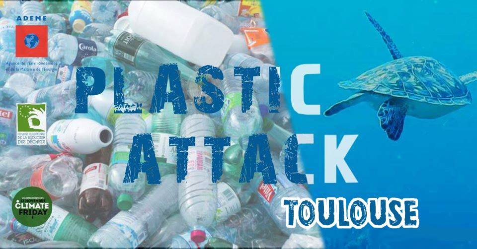 Visuel plastic attack Toulouse