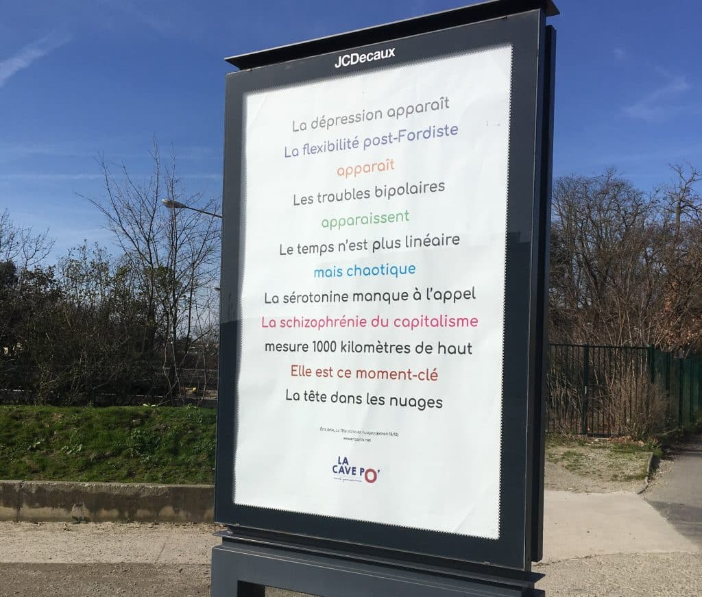 La poésie est dans la rue © Cave Poésie René-Gouzenne