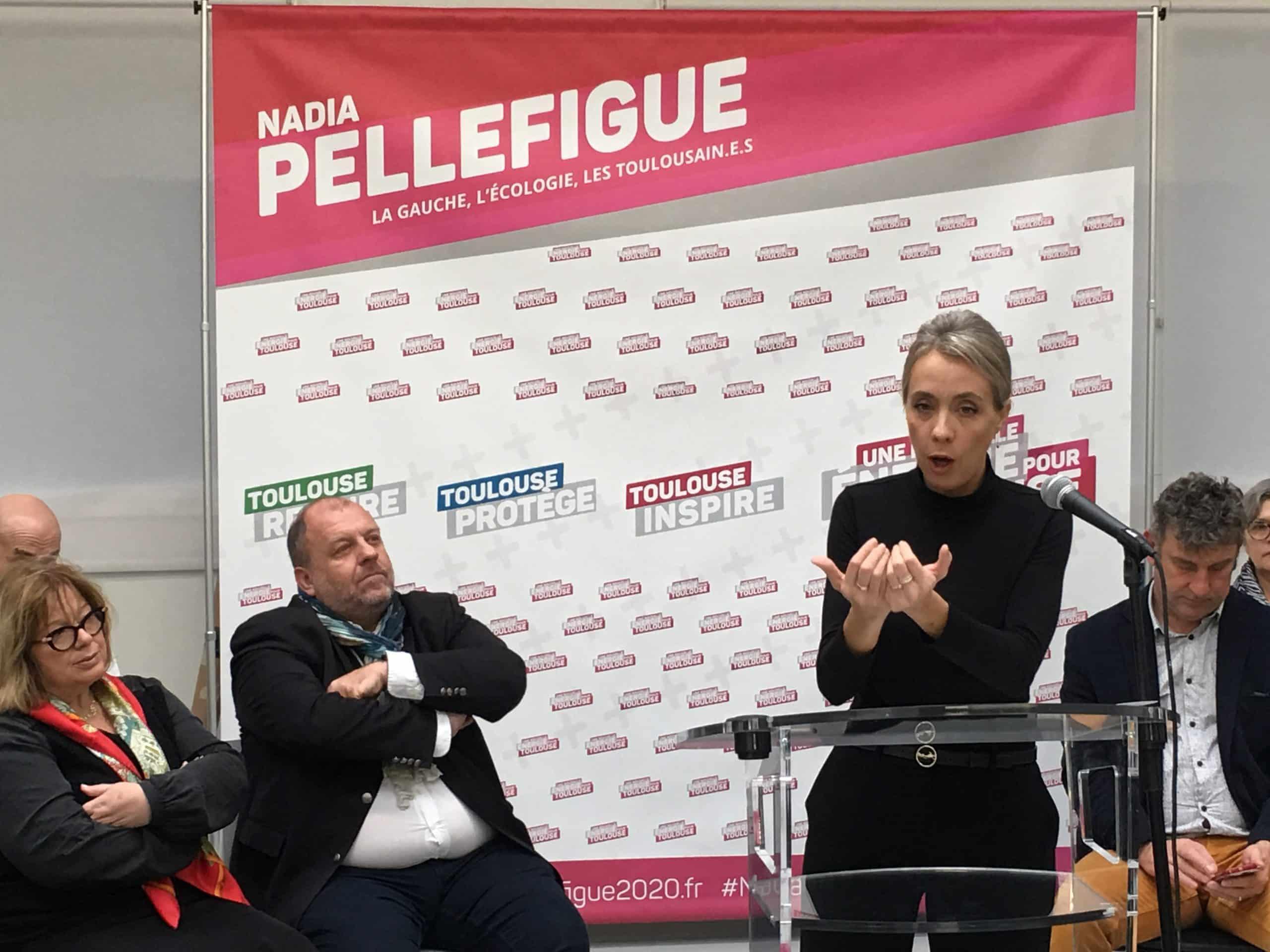 Nadia Pellefigue, le 10 février 2020 ©PS