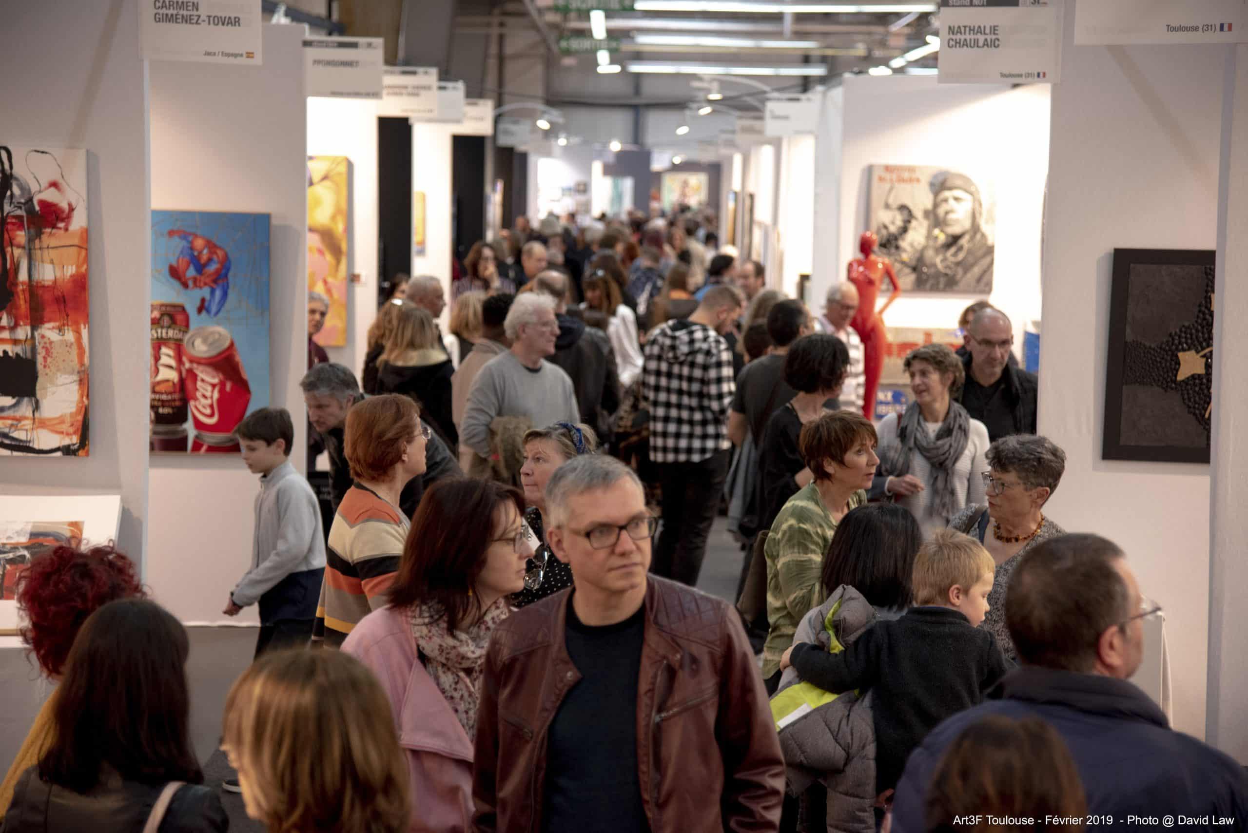 Artiste Peintre Contemporain Toulouse 5e édition du salon international d'art contemporain de