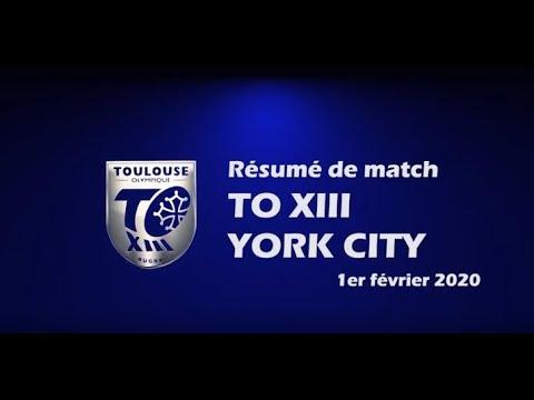 Le résumé en vidéo de la victoire du TO XIII face à York